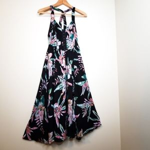 Kimchi Blue Floral Cross Strap Fit & Flare Dress